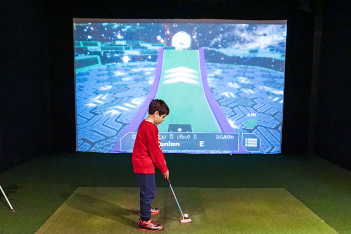 junior indoor golf programs and camps near me
