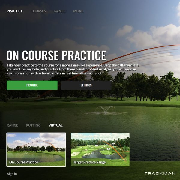 The-Golfer's-Academy-in-Trackman-golf-simulator-time-packages